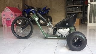 Download Motorised Drift Trike with lifan 110cc Video