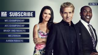 Download UNDISPUTED Audio Podcast (1.20.17) with Skip Bayless, Shannon Sharpe, Joy Taylor | UNDISPUTED Video