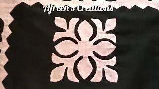 Download #APPLIC#TRICK#Square Shape#Motif#Tutorial; #Pattern 5 #Pillow Cover#Designing Video