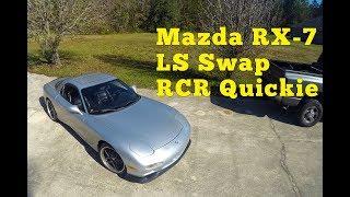 Download Mazda RX 7 FD LS Swap: RCR Quickie Video