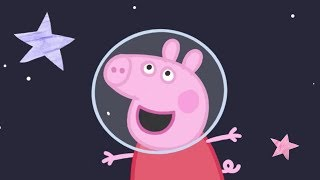 Download Peppa Pig Episodes | Peppa flies to the Moon! | Lunar Special 🚀| Cartoons for Children Video