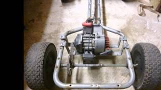 Download 50cc pedal go kart build Video