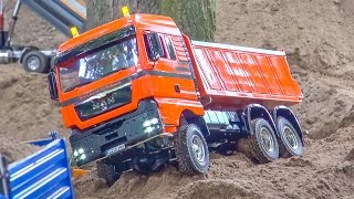 Download RC Trucks and construction machines in ACTION! Mercedes-Benz & more! Video