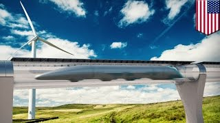 Download Hyperloop and future transport technology: flying bicycles, maglev podcars, driverless cars Video