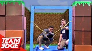 Download Minecraft Fort Battle IRL | GIANT Slingshot!! Video