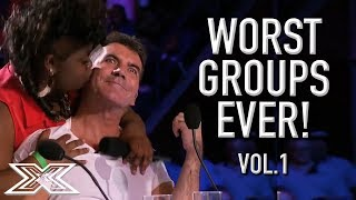 Download The WORST GROUP AUDITIONS On X Factor! Volume 1 | X Factor Global Video