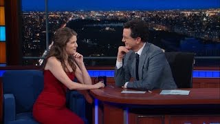 Download Anna Kendrick Geeks Out And Sings With Stephen Video