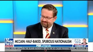 Download Spurious Nationalist Seb Gorka Upset John McCain Bashed 'Spurious Nationalism' Video