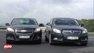 Download Vergleichstest: Chevrolet Malibu 2012 trifft Opel Insignia [HD] Video