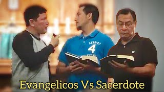 Download Dialogo de evangélicos y padre Luis todo Video