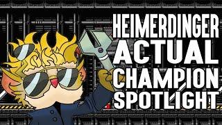 Download Heimerdinger ACTUAL Champion Spotlight Video
