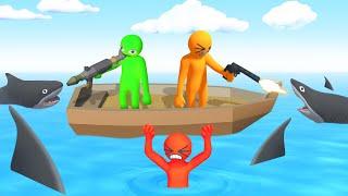 Download Gang Beasts + GUNS = EPIC! (Havocado) Video