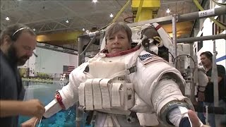 Download NASA astronaut Peggy Whitson #SuitUp Video Video