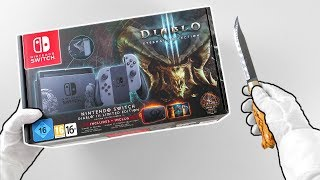 Download Nintendo Switch ″DIABLO″ Limited Edition Console Unboxing Video