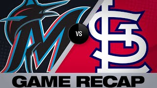 Download Goldy walks off the Marlins in extras | Marlins-Cardinals Game Highlights 6/19/19 Video