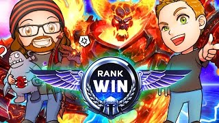 Download RANK WIN | Ragnaros' Raging Clickbait| MFPallytime & Mewnfare | Heroes of the Storm Gameplay Video