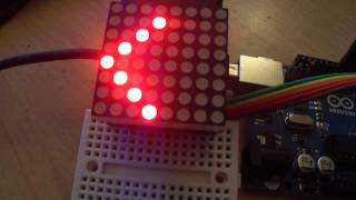 Arduino 8x8 LED matrix clock with calendar Free Download Video MP4