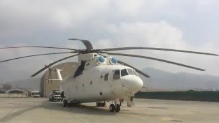 Download Mi-26 The Largest Helicopter in the World Loads a Fuel Truck in Kabul, Afghanistan Video