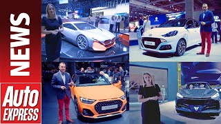 Download Best cars of the Frankfurt Motor Show 2019 - highlights round-up Video