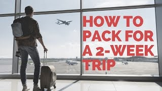 Download Making travel easier: How to pack for a two-week trip without checking a bag Video