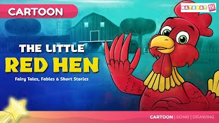 Download Little Red Hen | Stories and Tales in Telugu | పిల్లలకు కొత్త కథలు Video