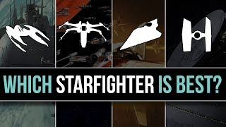 Download Which Star Wars Faction has the BEST STARFIGHTERS? | Star Wars Lore Video