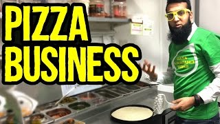 Download Pizza Business in Pakistan - Tour Of Pizza Restaurant | Azad Chaiwala Show Video