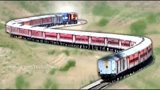 Download One of the DEADLIEST Curves | Transition Horseshoe | Indian Railways Video