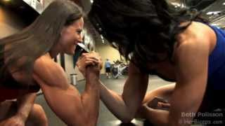 Download Fit Girls Arm Wrestling Video