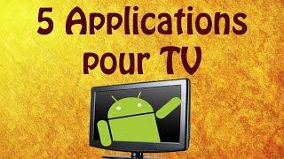 Download 5 applications pour regarder la Tele en direct et en replay ! Video