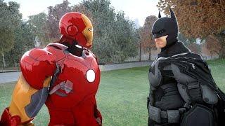 Download BATMAN VS IRON MAN - EPIC SUPERHEROES BATTLE Video