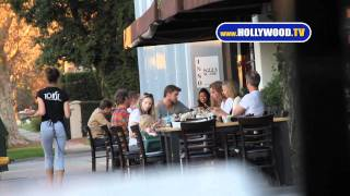Download Chris, Liam Hemsworth Eat at Toast Video