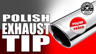 Download How To Clean And Polish Exhaust Tips - Chemical Guys Heavy Metal Polish Video