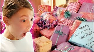 Download ISABELLE'S 12th BIRTHDAY MORNING OPENING PRESENTS! Video