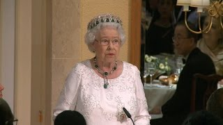 Download Queen hints at final Commonwealth engagement as she joins leaders for Malta conference Video