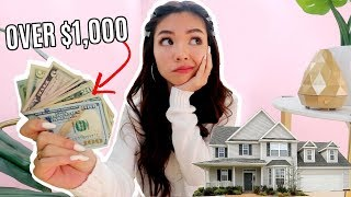 Download What I SPEND in a Week in LA as a Homeowner! Video