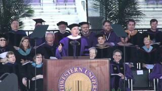 Download Stephen Colbert Addresses Northwestern Nation Video