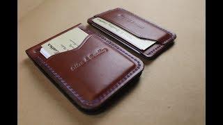 Download Money Clip Combo Chestnut Bridle Leather Video