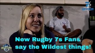 Download Serevi Rugby Town Sevens Fan Interviews | Funny Video Video