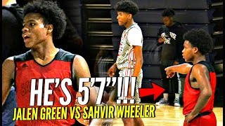 Download SHORTEST Player On The Court STEALS The SPOTLIGHT In Front of TOP D1 Coaches!! vs EBO & Jalen Green! Video