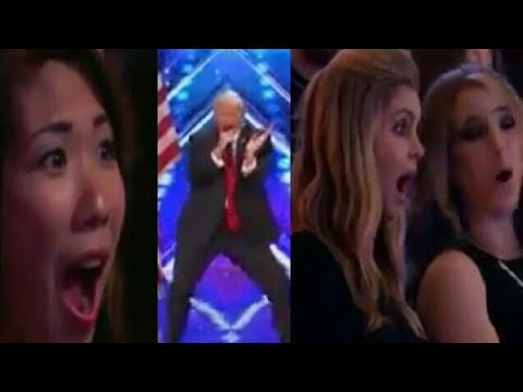 Donald trump dancing in American's got talent  || dubbed on a Hindi song