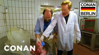 Download Conan Trains To Become A Sausage Master - CONAN on TBS Video