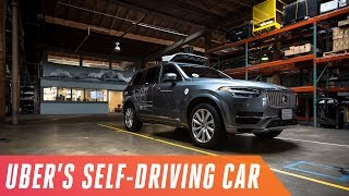 Download Riding in Uber's self-driving cars Video