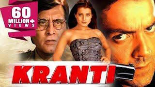 Download Kranti (2002) Full Hindi Movie | Bobby Deol, Vinod Khanna, Ameesha Patel, Rati Agnihotri Video
