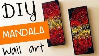 Download DIY Mandala Wall Art 🌺🌺🌺 Video