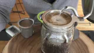 Download Coffee Hack: how to make the best Pourover Coffee with this cheap tea infuser Video