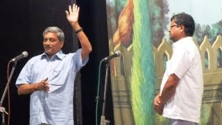 Download Parrikar and Tiatr Dabolim vo Mopa.. Video