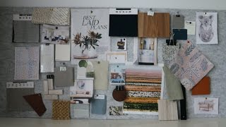 Download How to create a Mood Board like an Interior Designer Video