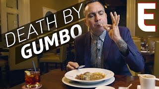 Download $18 Stuffed Quail Gumbo at Restaurant R'evolution in New Orleans — The Meat Show Video