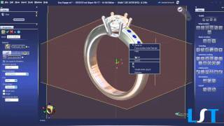 Most Powerful Tools - 3DESIGN CAD 7 Jewelry Design Software Free